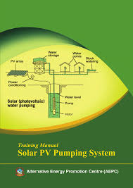 [Ebook Điện Mặt Trời] : Training Manual for Solar PV Pumping System